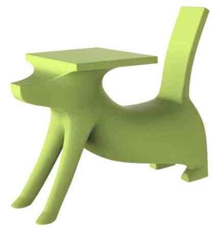 Le bureau Le Chien Savant de Philippe Starck 1