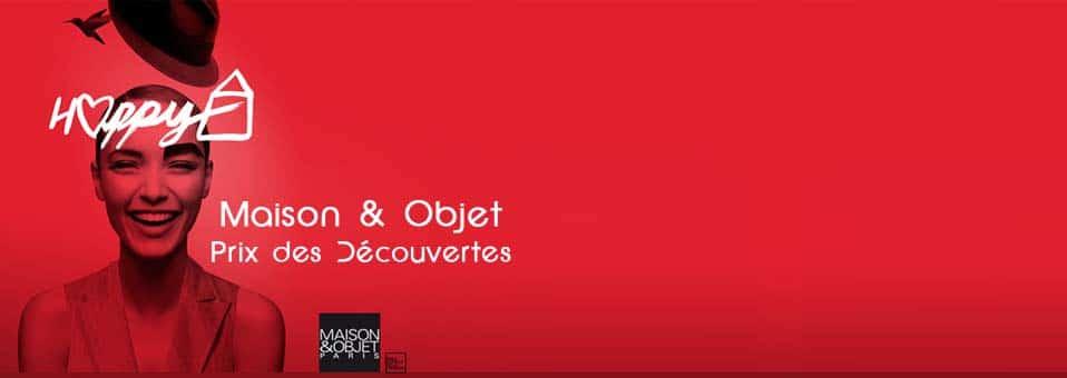 Prix des découvertes Maison et Objet Janvier