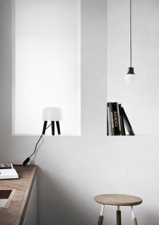 Suspension design - La suspension Mass light by Kasper Ronn et Jonas Bjerre-Poulsen