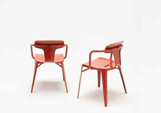 chaise design T14 Tolix Patrick Norguet