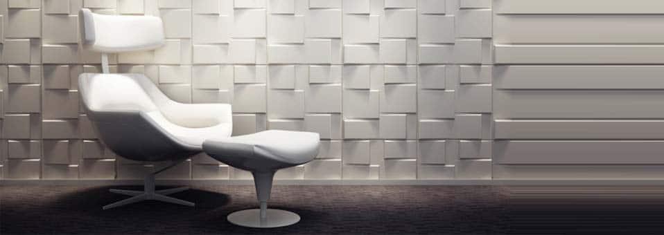 Panneaux muraux 3D