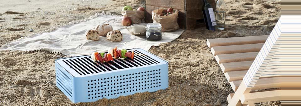 barbecue design à charbon Mon Oncle