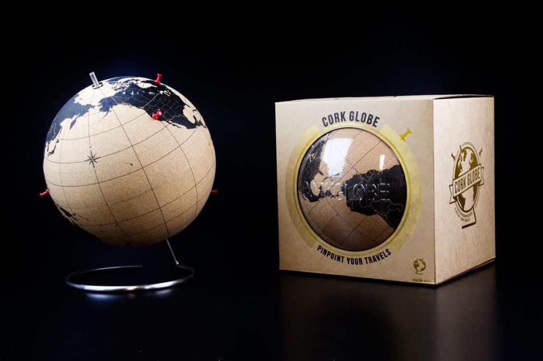 Cork Glob - Le globe en liège - Deco Tendency
