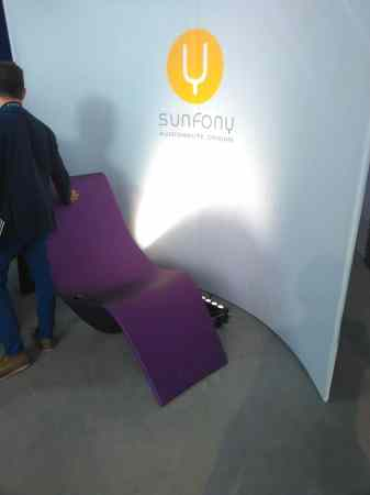 Sunfony fauteuil sonore