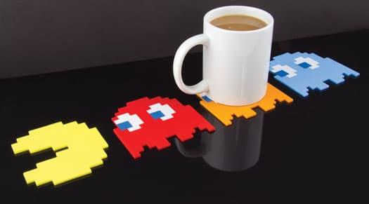 sous-verres Pac Man