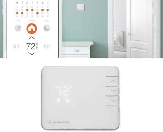 thermostat connecté Alarm.com