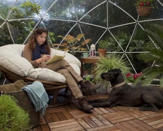 Garden Igloo serre design jardin