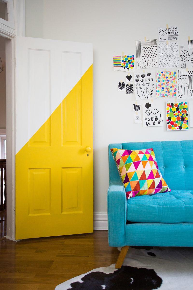 id e d co chambre comment ajouter de la couleur. Black Bedroom Furniture Sets. Home Design Ideas