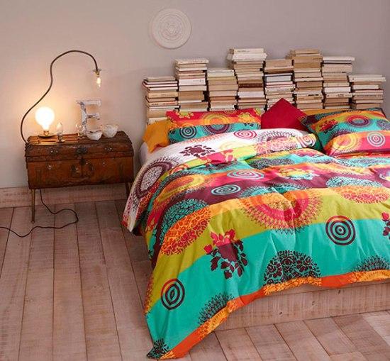 idee decor tete de lit