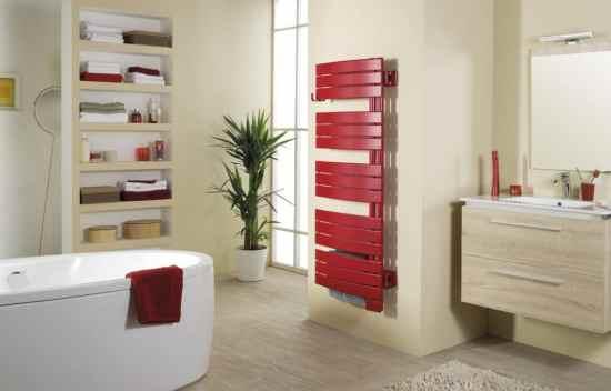 Les radiateurs design sèche serviettes couleur