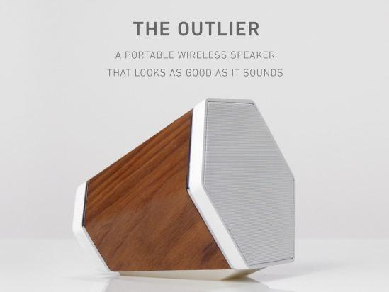 Enceintes design - The Outlier