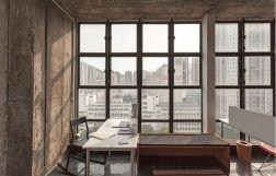 Design pragmatique espaces cachés loft Hong Kong