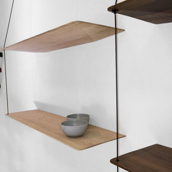 Stedge etageres minimaliste Leonard Aldenhoff