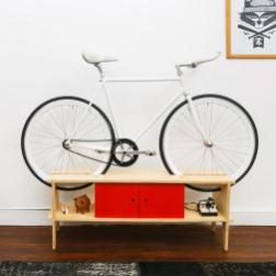 Chol1 meubles design ranger vélo