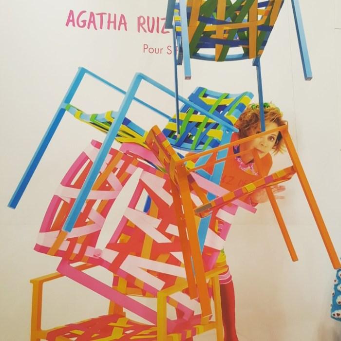 Sifas Agatha Ruiz de la Parda fauteuil Pheniks table Kwadra