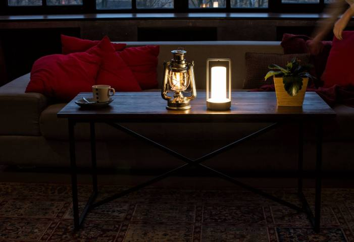 Fotogen lampe intelligente design