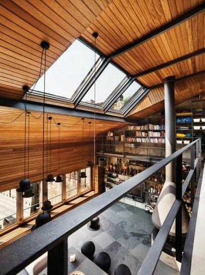 Ofist interieur deco loft metal bois