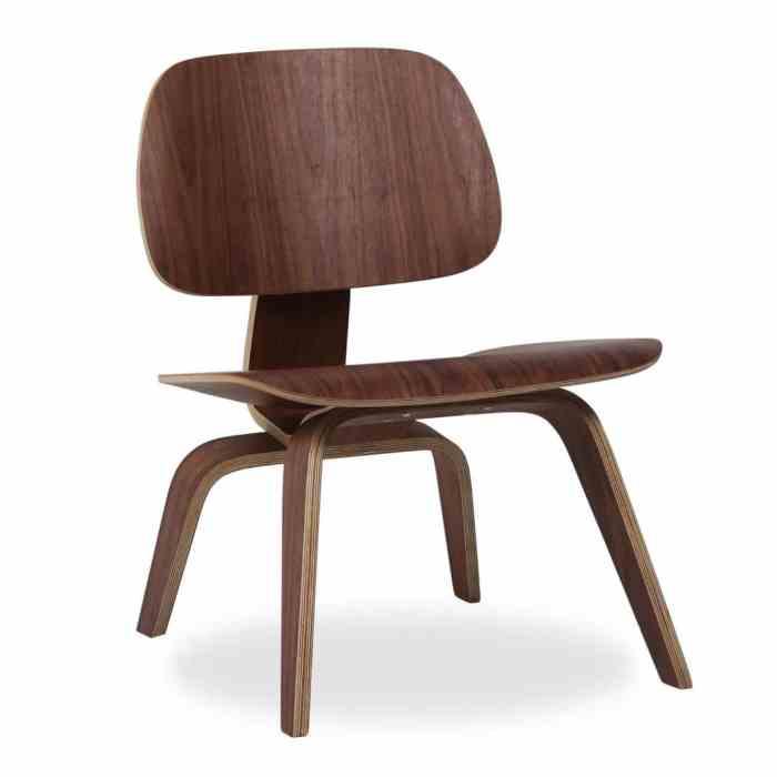 chaises icones du design LCW Charles et Ray Eames superestudio