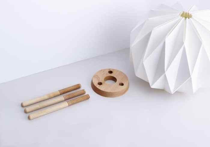 Lampes designs Lampo lampe en papier origami 3