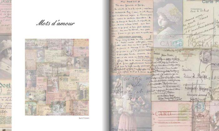 papier peint Chantal Thomass Mots d amour