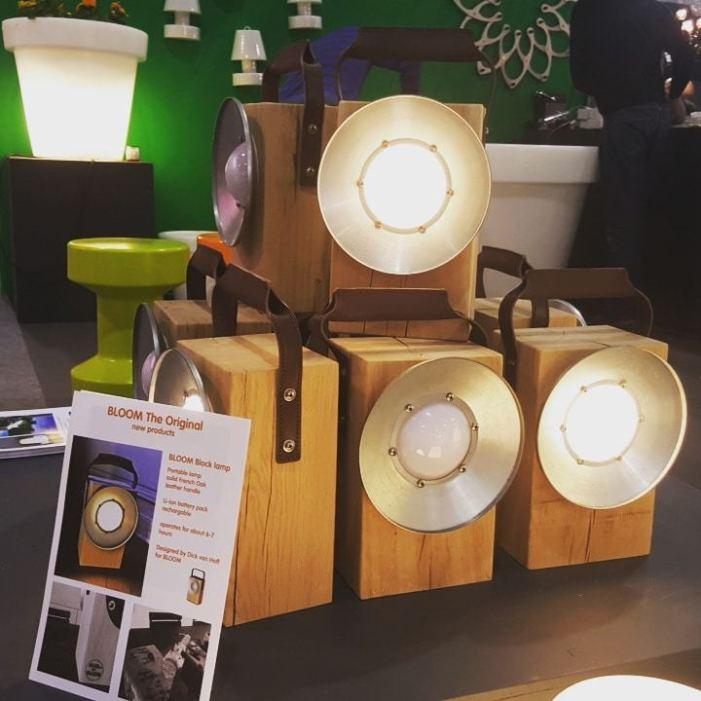 Lampes designs :Block de Bloom!