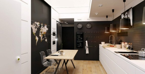 Natalia Akimov decoration petit appartement