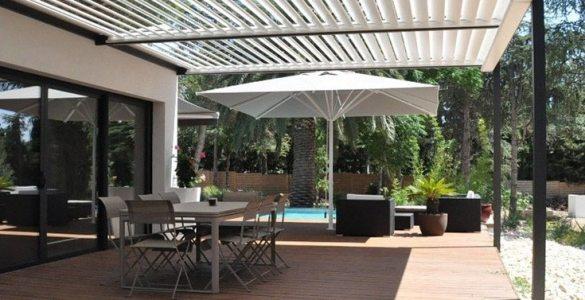 aménager sa terrasse pergolas bioclimatiques