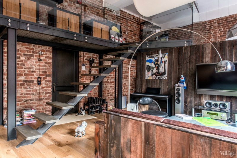 Loft industriel - Visite d\'un loft où le bois est roi