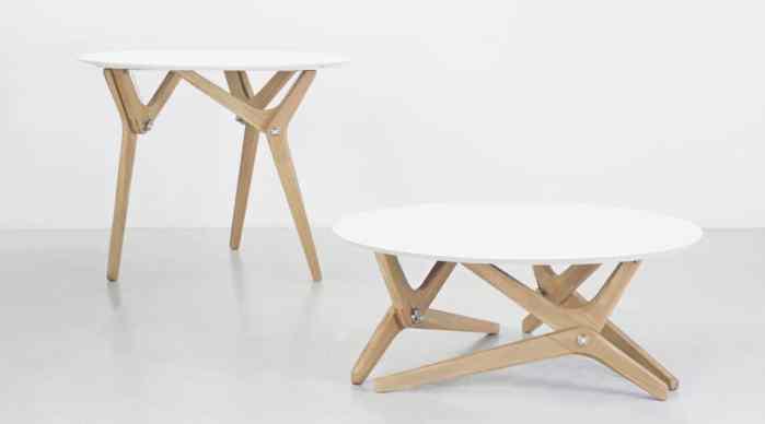 Karim Fargeau imagine le design de la table basse relevable