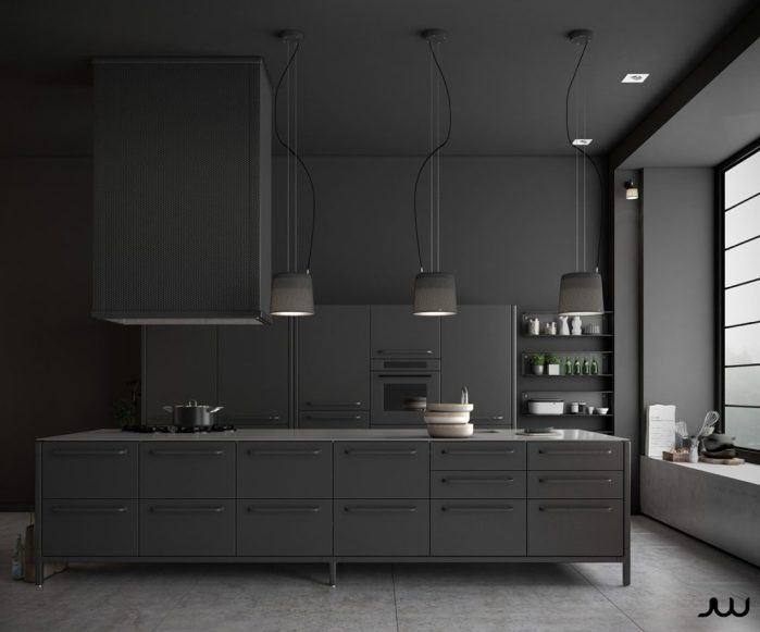 Lâchez-vous et osez cette couleur pour votre cuisine