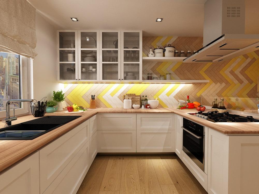 Pense nos detalles da cociña