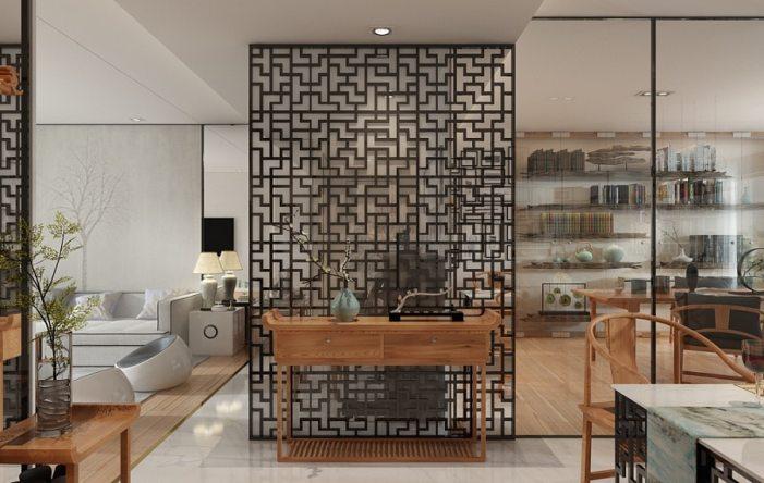 Un magnifique salon à la décoration zen