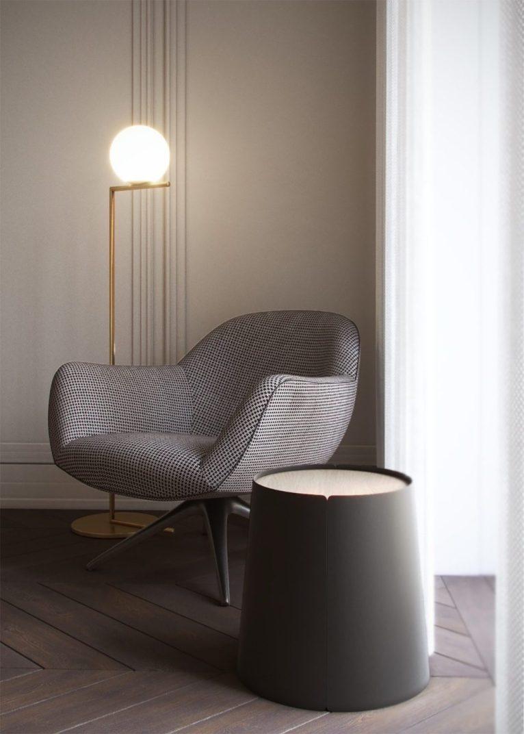 Honey White - Lumière et sophistication moderne dans un appartement de deux chambres 11