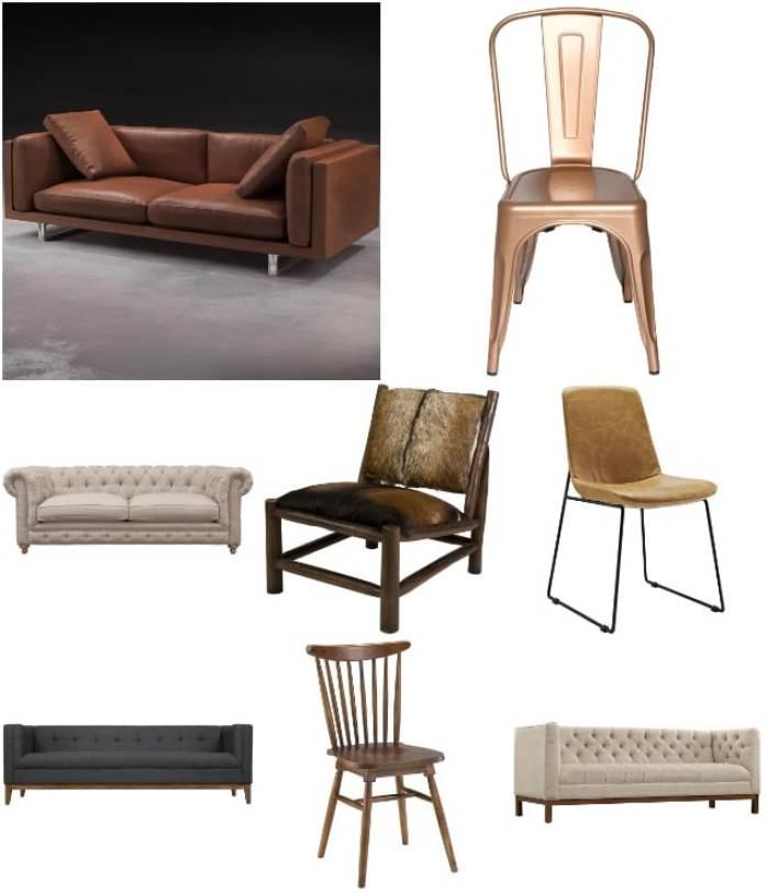 Décoration d'intérieur industrielle meubles industriels