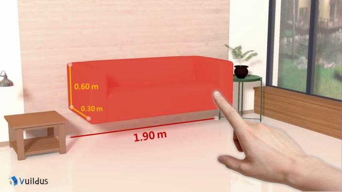 VuildUs application VR réalité virtuel décoration d'intérieur Samsung