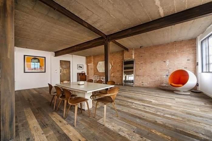 Un petit style de loft New-Yorkais assumé