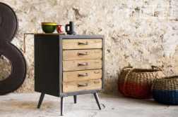 Mobilier industriel les meubles de rangement commode