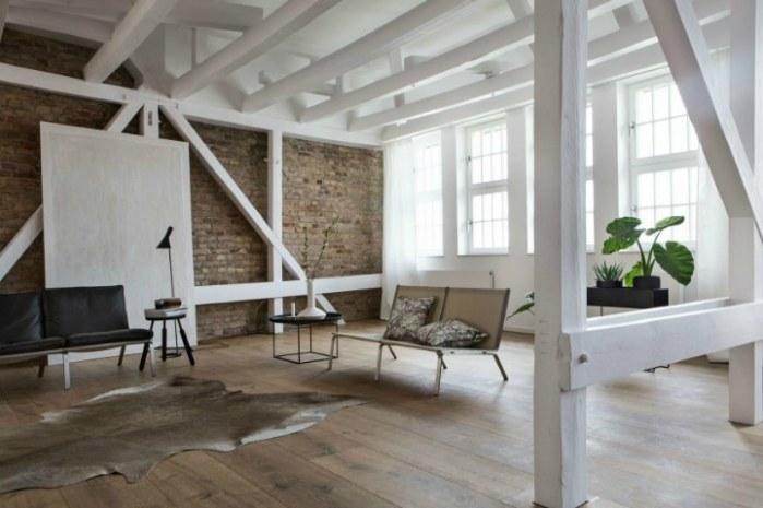 Un penthouse minimaliste travaillé dans les moindre détails