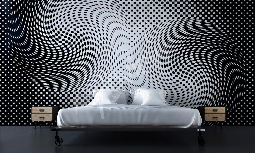 Papier peint 3D - La bonne idée pour transformer une chambre