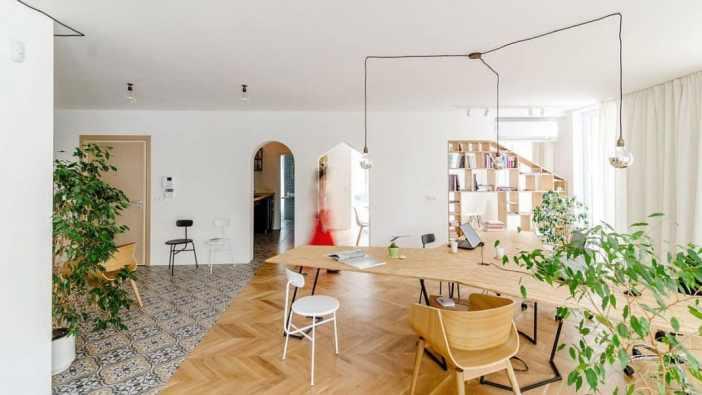 Comment transformer un appartement en un bureau unique