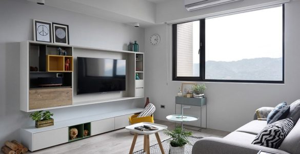 appartement de style scandinave