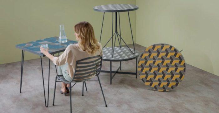 Tables basses en marbre : Indira