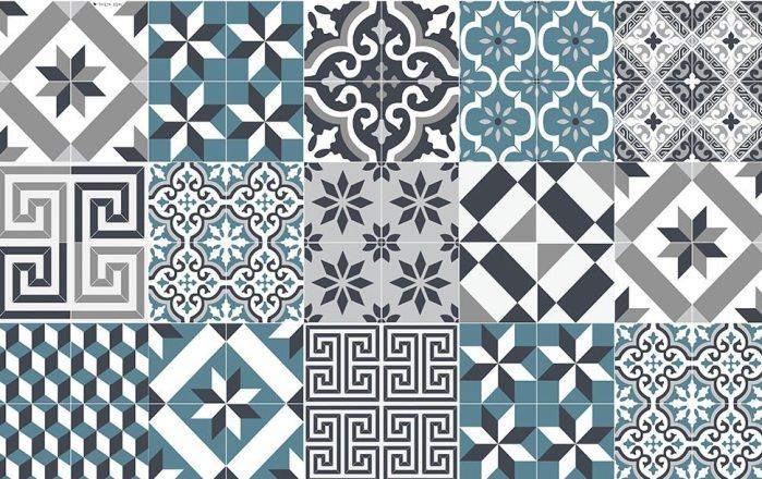 Les motifs carreaux de ciment