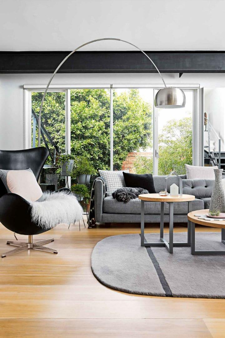 Craig Miller-Randle triplex décoration minimaliste