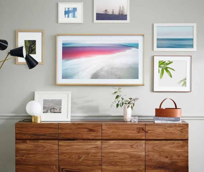 The Frame Samsung Télévision Design