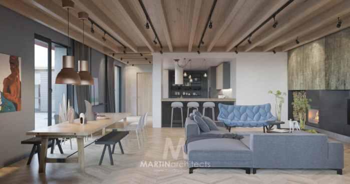Martin Architects renovation appartement