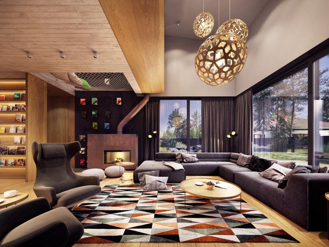 Cette élégante maison fourmille de bonnes idées déco à reproduire chez vous  ; avec plus ou moins de facilité. Le moins que l\u0027on puisse dire, c\u0027est que  cet