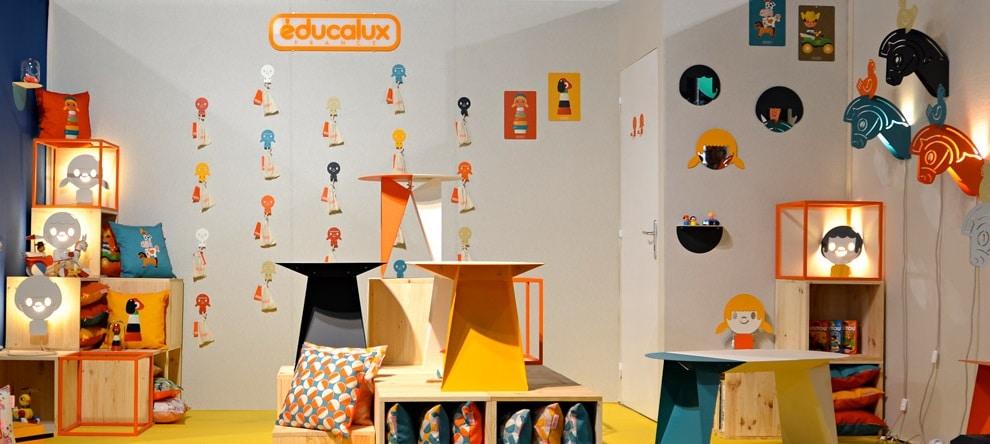 Educalux – Une transition très réussi du monde du jouet à la décoration