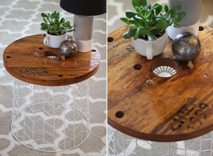 idées de tables basses à créer vous-même DIY