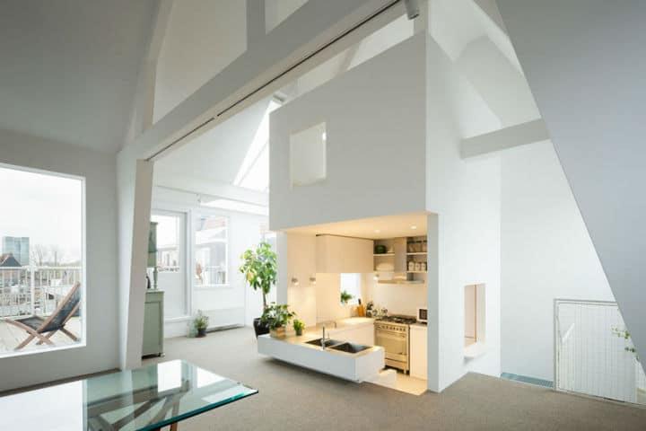Visite d'un loft minimaliste à Amsterdam | Deco Tendency